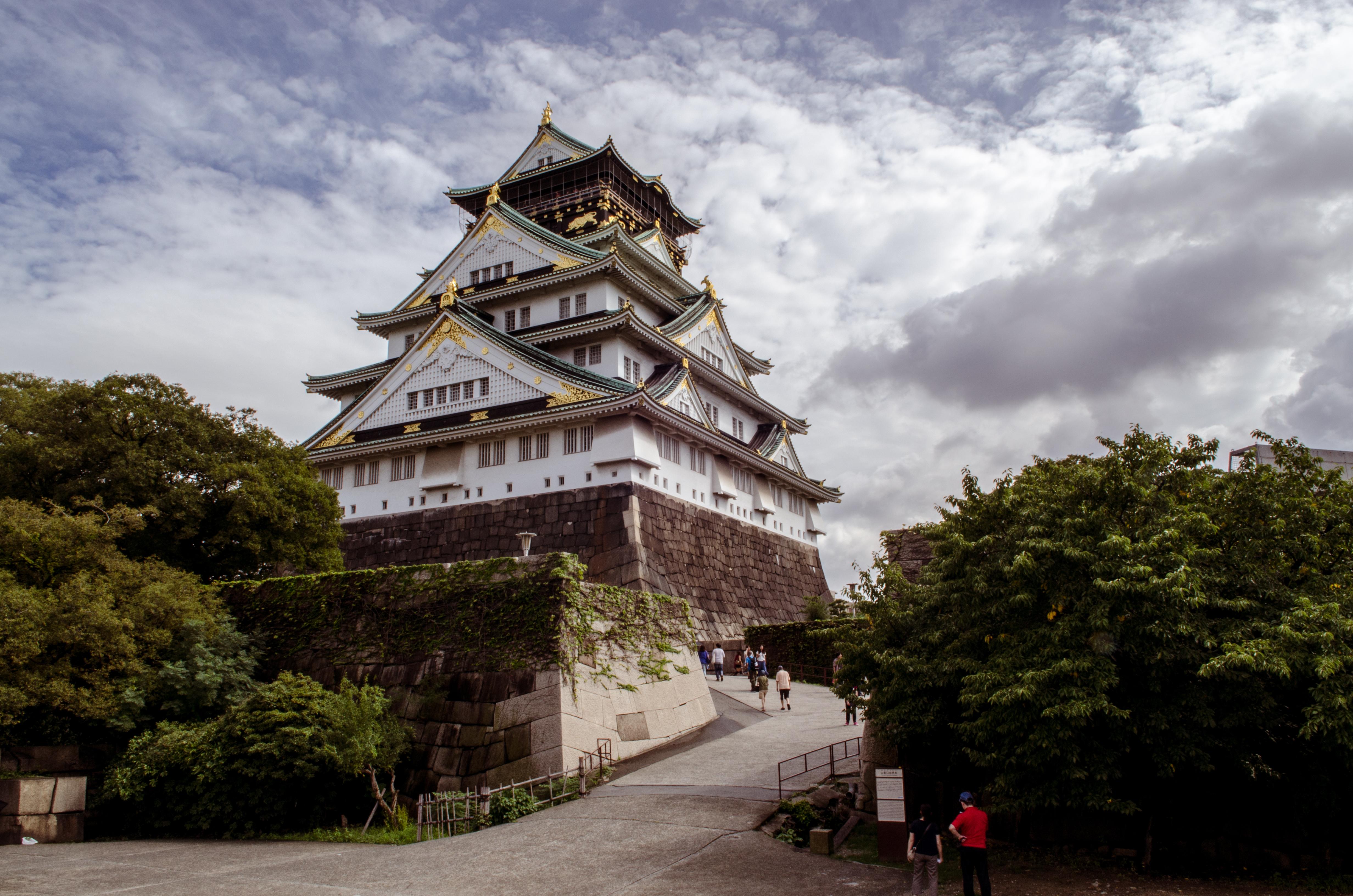 Osaka Castle Night