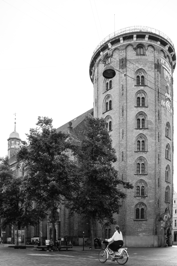 The Round Tower which is a unique 17th Century building is one of the many that King Christian IV built.